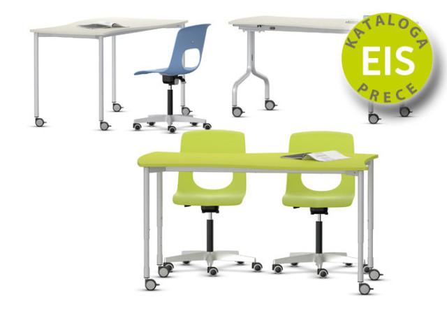 Divvietīgs galds Shift+